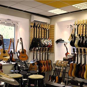 Музыкальные магазины Радужного